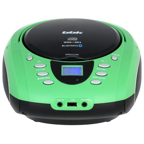 Магнитола BBK BX165BT Зеленый черный