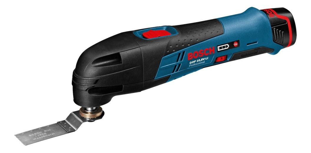 Аккумуляторный реноватор Bosch GOP 10,8 V-LI 060185800C БЕЗ АККУМУЛЯТОРА И З/У