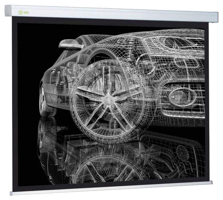 Экран для видеопроектора Cactus Wallscreen CS-PSW-213x213 Белый
