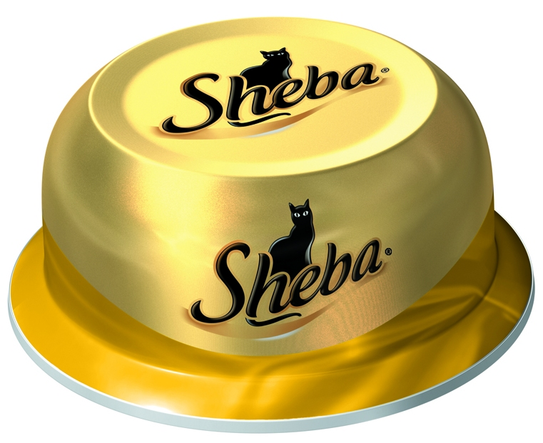 Миниатюра Консервы для кошек Sheba Classic соте из куриных грудок, 80г №1