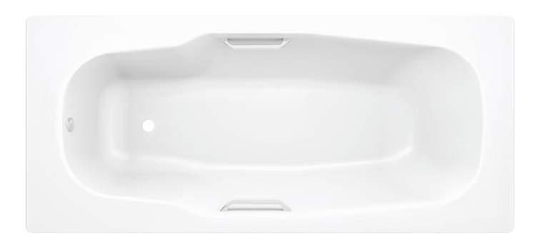 Стальная ванна BLB Atlantica B80A handles 180х80 без гидромассажа