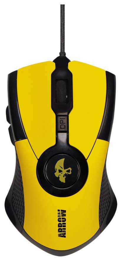 Игровая мышь Jet.A Arrow JA-GH35 Yellow/Black