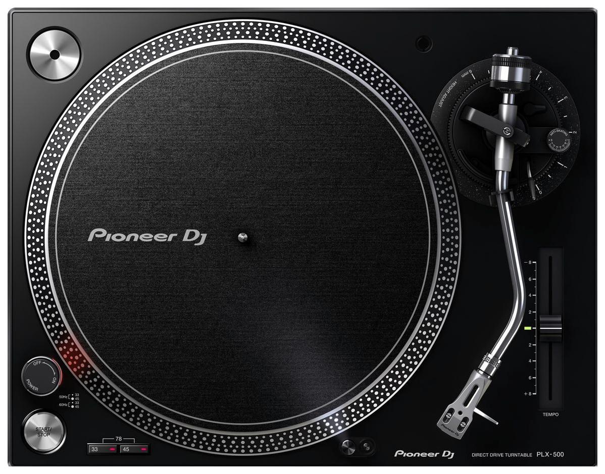 Проигрыватель виниловых пластинок Pioneer PLX-500-K Black