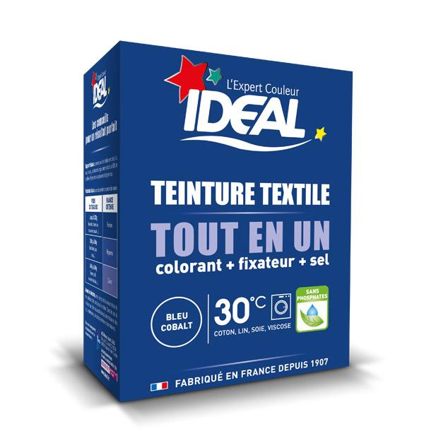 Краска для одежды и тканей Ideal MINI Все в Одном синий кобальт, 230 г