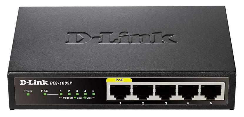 Коммутатор D-Link DGS-1005P/A1A