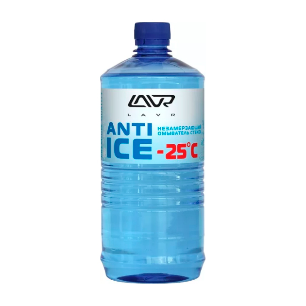 Незамерзающий омыватель стекол Anti-ice Anti Ice 1000 мл LAVR LN1310