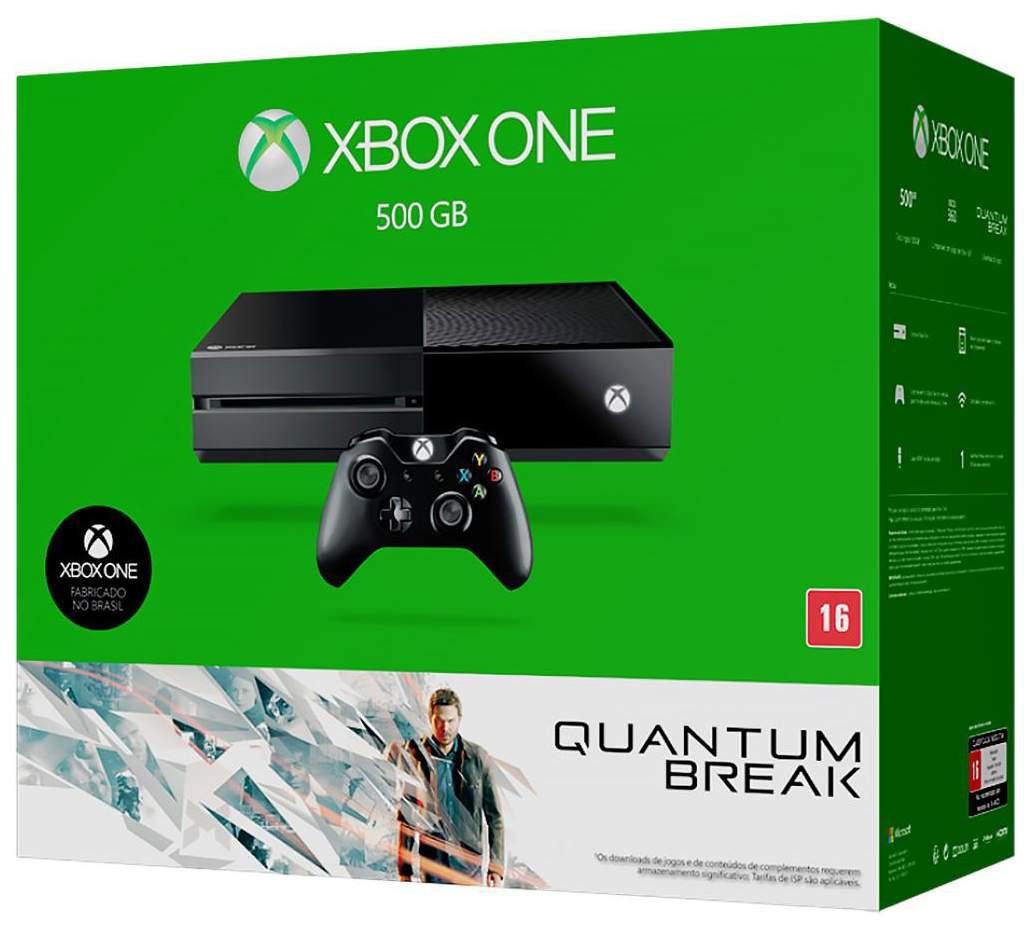 Игровая приставка Microsoft Xbox One 500Gb + Игра Quantum Break