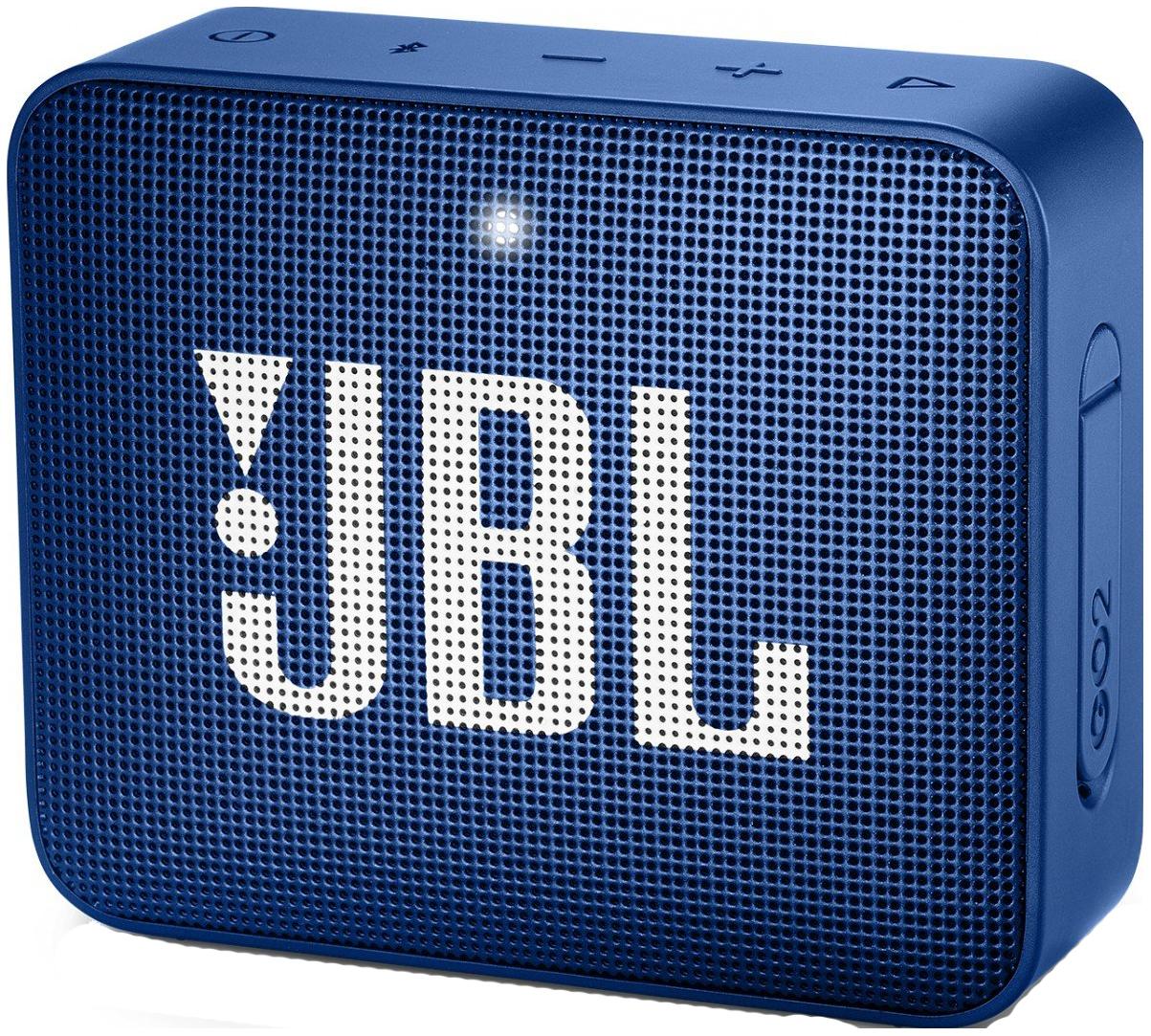 Беспроводная акустика JBL Go 2 Blue (JBLGO2BLU)