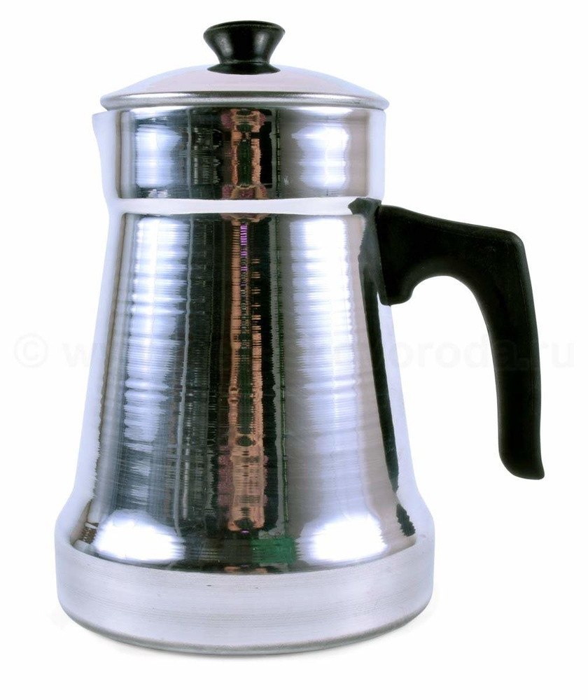 Кофейник Эгр-Ал 1,0л полированный