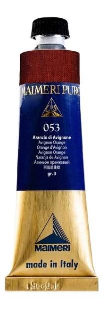 Масляная краска Maimeri Puro 053 авиньон оранжевый 40 мл