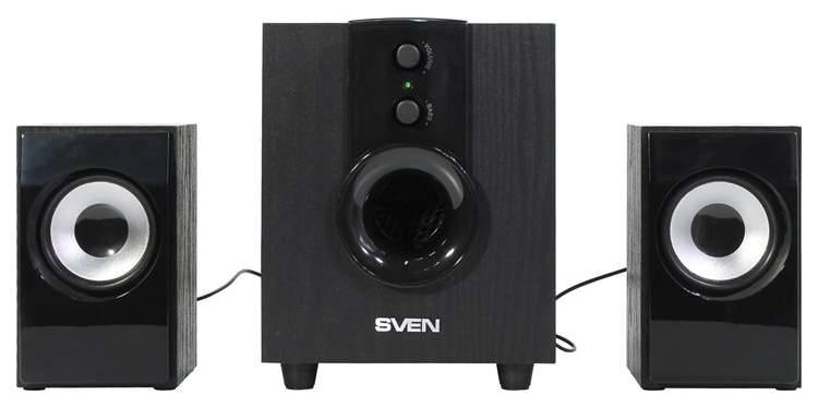 Колонки для компьютера Sven MS-107 Black