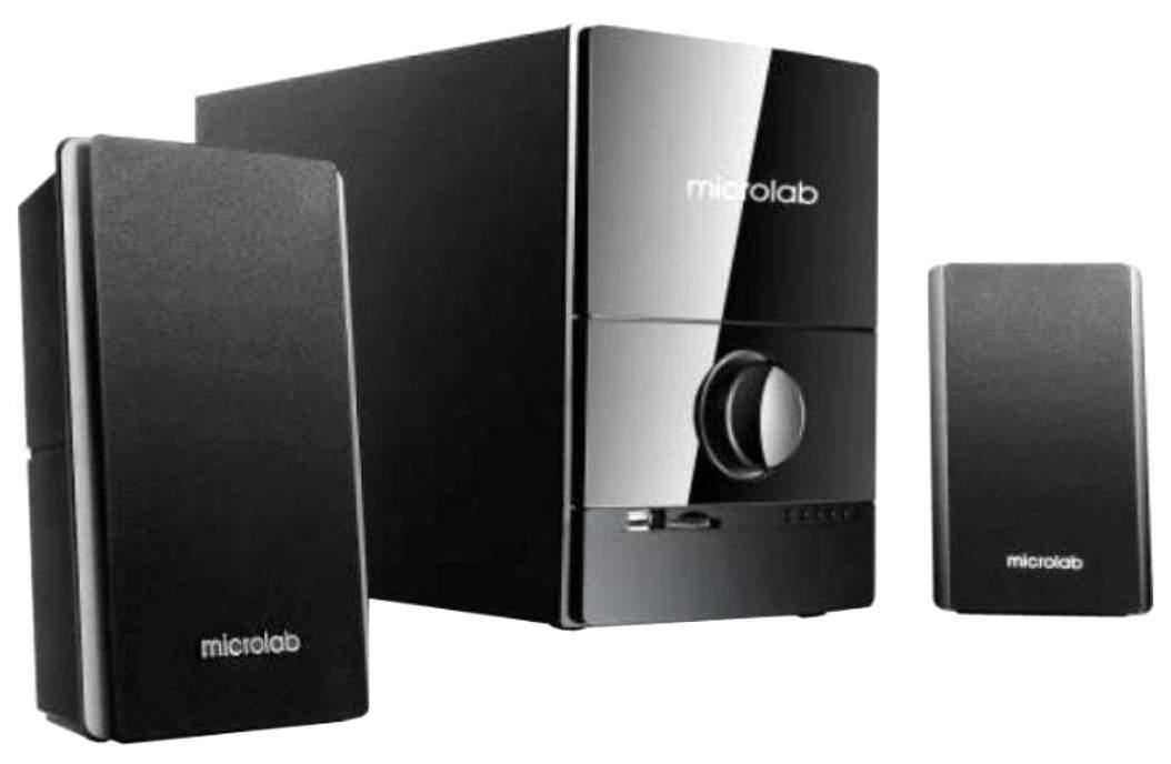 Колонки для компьютера Microlab M-500U Black