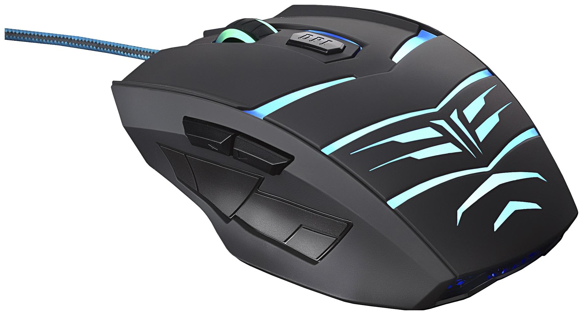 Проводная мышка OKLICK 745G LEGACY Black