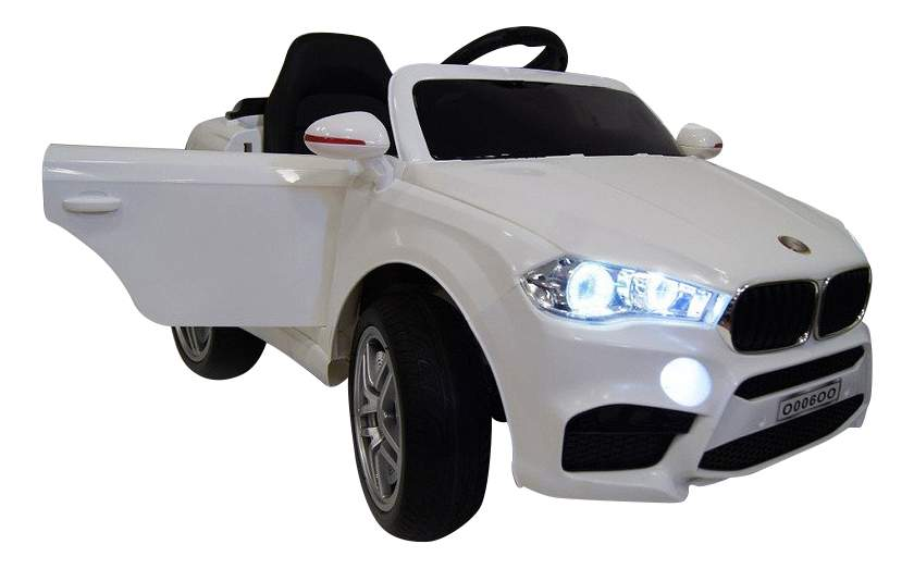 Электромобиль BMW VIP белый RIVERTOYS