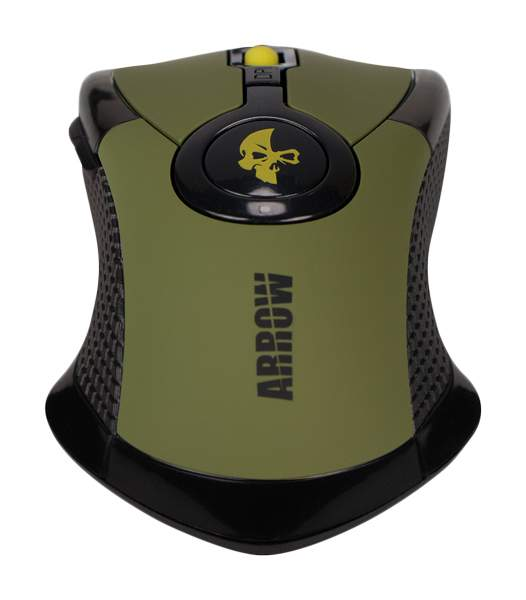 Игровая мышь Jet.A Arrow JA-GH35 Green/Black