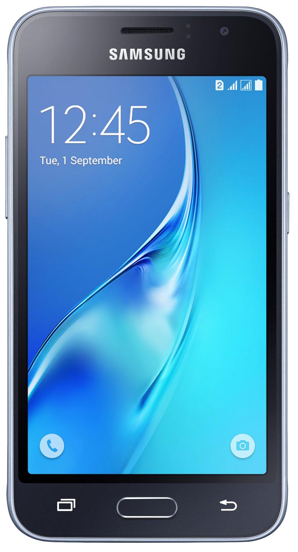 Смартфон Samsung Galaxy J1 (2016) 8Gb Black (SM-J120F)
