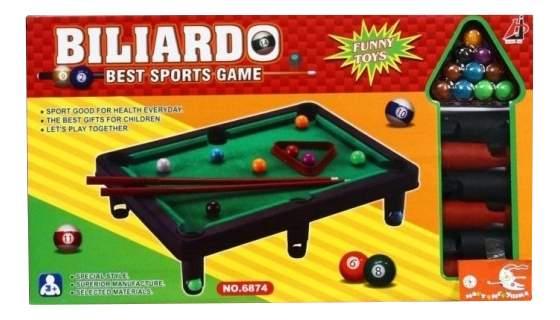 Настольная игра Shantou Бильярд 6874