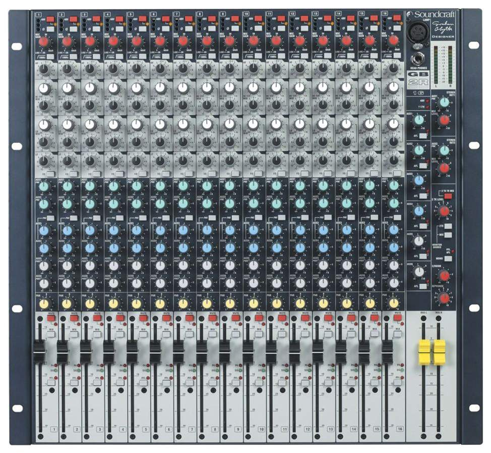 Микшер Soundcraft GB2R-16