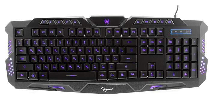 Игровая клавиатура Gembird KB-G11L Black