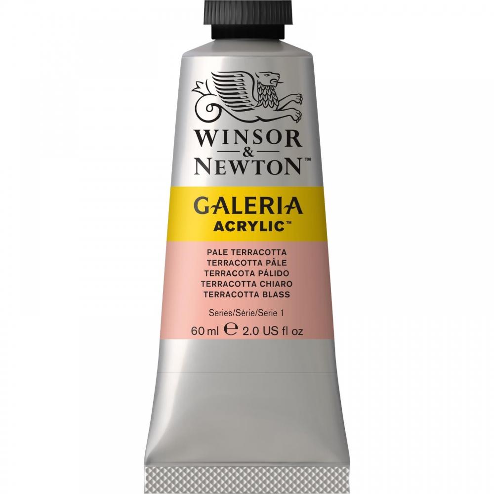 Акриловая краска Winsor&Newton Galeria бледно-терракотовый 60 мл