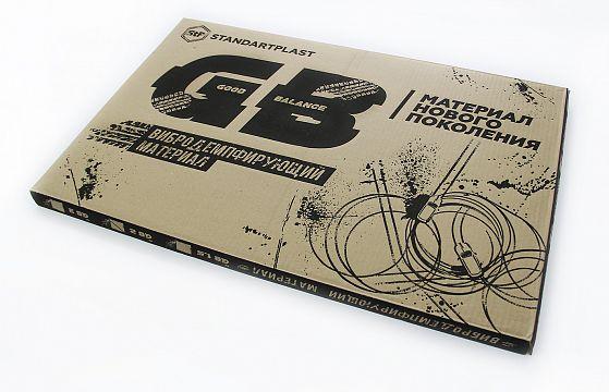 Виброизоляция StP GB 4 лист 0,75х0,47 м. Упаковка 5 листов