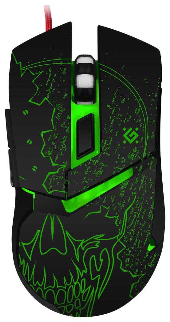 Игровая мышь Defender Alfa GM-703L Black (52703)