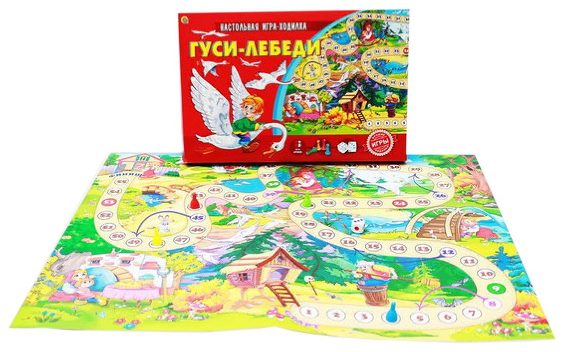 Семейная игра Рыжий кот Гуси-лебеди ИН-9941