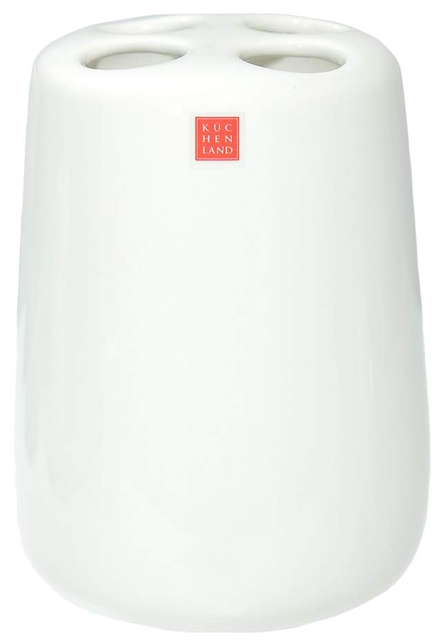 Стакан для зубных щеток Kuchenland Home Shower Olive 11 см