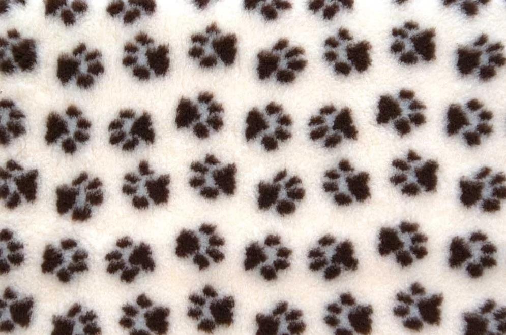 Коврик для животных ProFleece 100x160см коричневый, белый