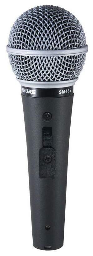 Микрофон Shure SM48S вокальный