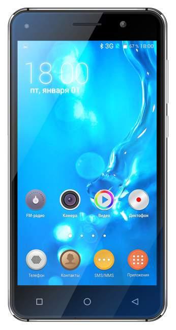 Смартфон teXet TM-5005 8Gb Black