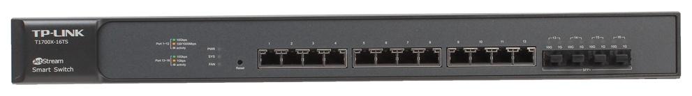 Коммутатор TP-LINK T1700X-16TS Black