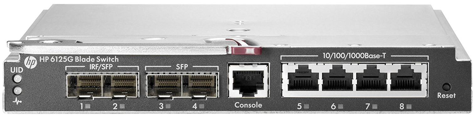 Коммутатор HP 6125G 658247-B21 Серый