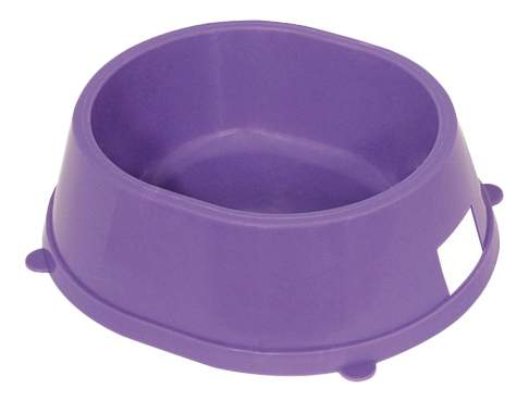 Одинарная миска для кошек и собак Gamma, пластик, в ассортименте, 0,45 л
