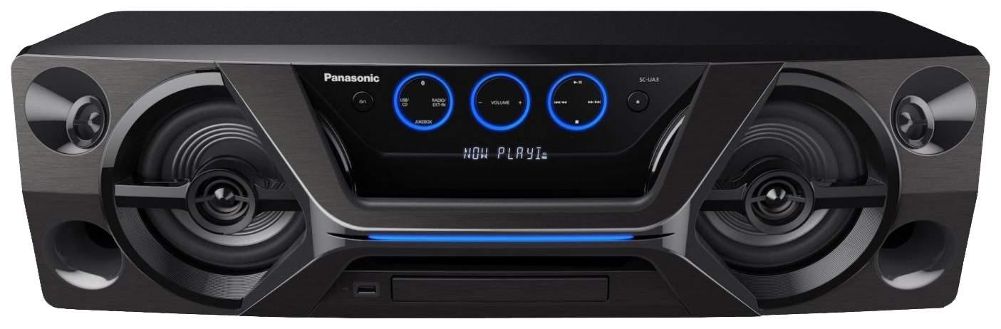 Музыкальный центр Mini Panasonic SC-UA3GS-K