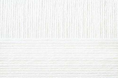 Пряжа для вязания Пехорка Элегантная 10 шт. по 100 г 250 м цвет 001 белый