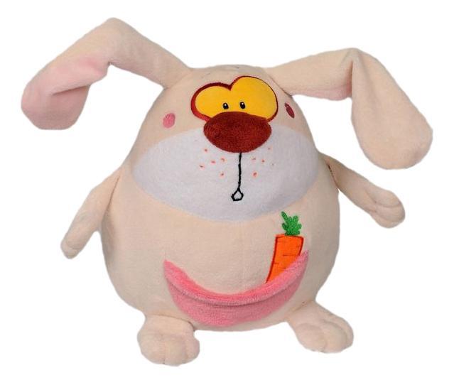 Мягкая игрушка СмолТойс заяц шарик 25 см 1930/МЛ/25