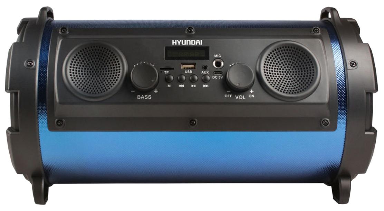 Музыкальная система Hyundai H-MC 200 Черный/Синий