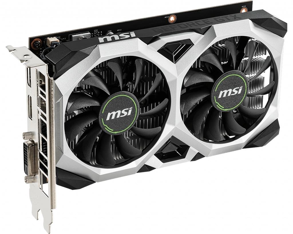 Видеокарта MSI GeForce GTX 1650 VENTUS XS 4G OC