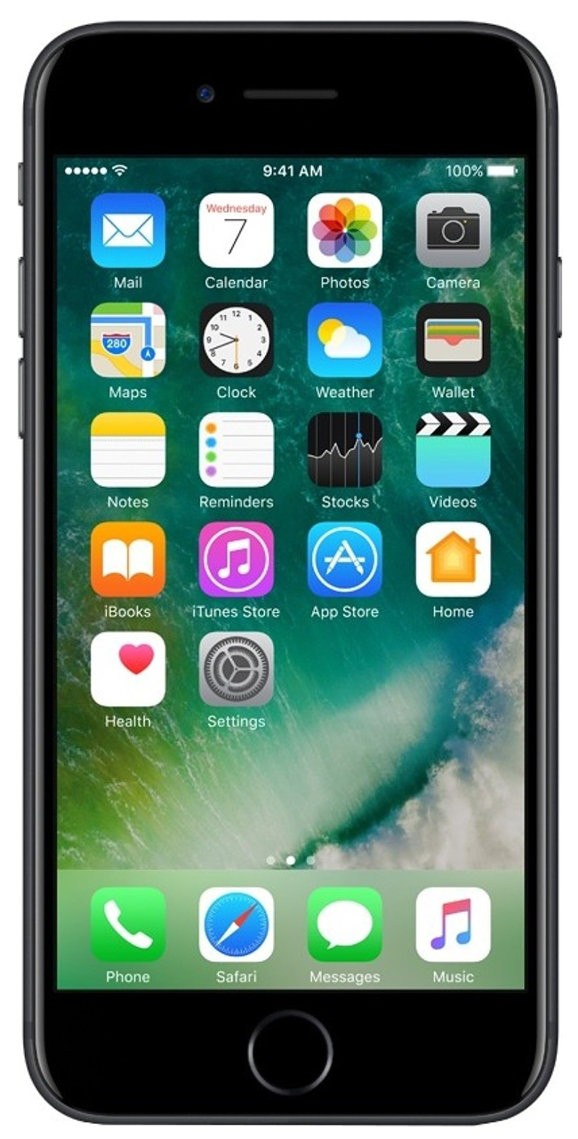 Смартфон Apple iPhone 7 Plus 32Gb Black (MNQM2RU/A)