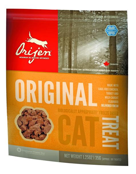 Лакомство для кошек ORIJEN ORIGINAL CAT, 35г