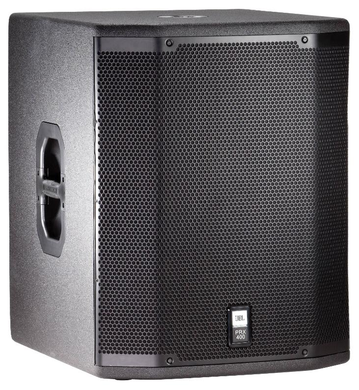 Сабвуфер JBL PRX418S Black