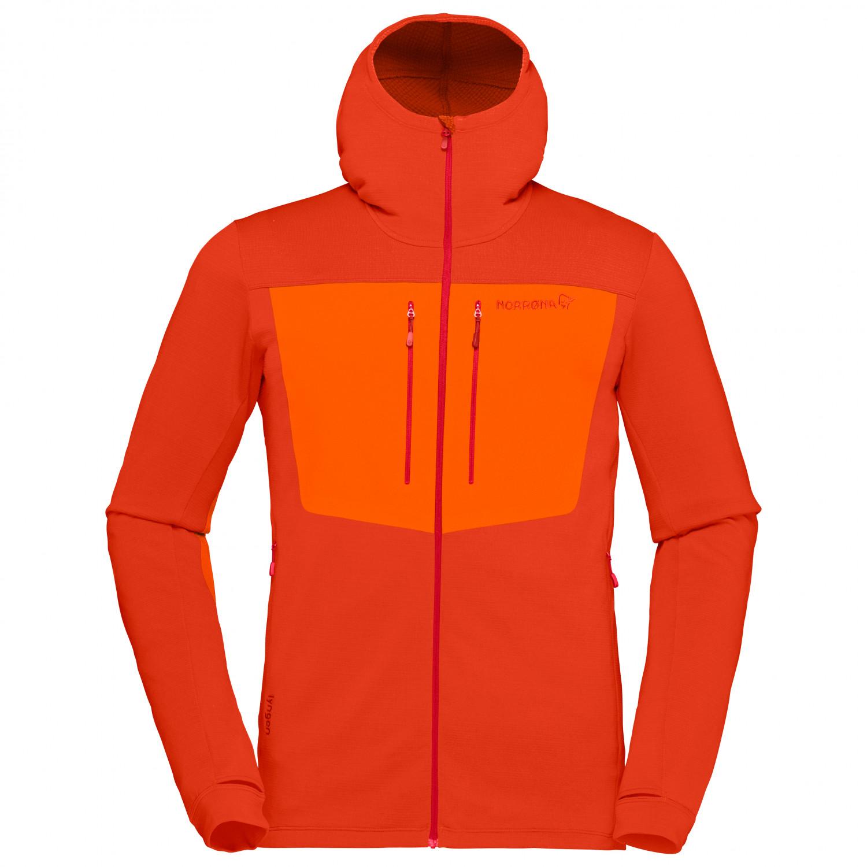 Куртка мужская Norrona Lyngen Powerstretch Pro Zip Hoodie, rooibos tea, L INT