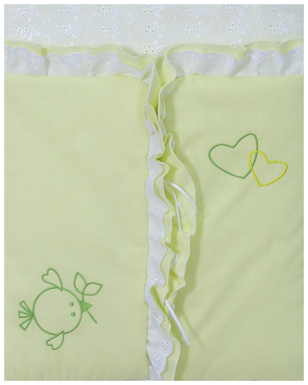 Конверт для новорожденных Fairy Жирафик зеленый