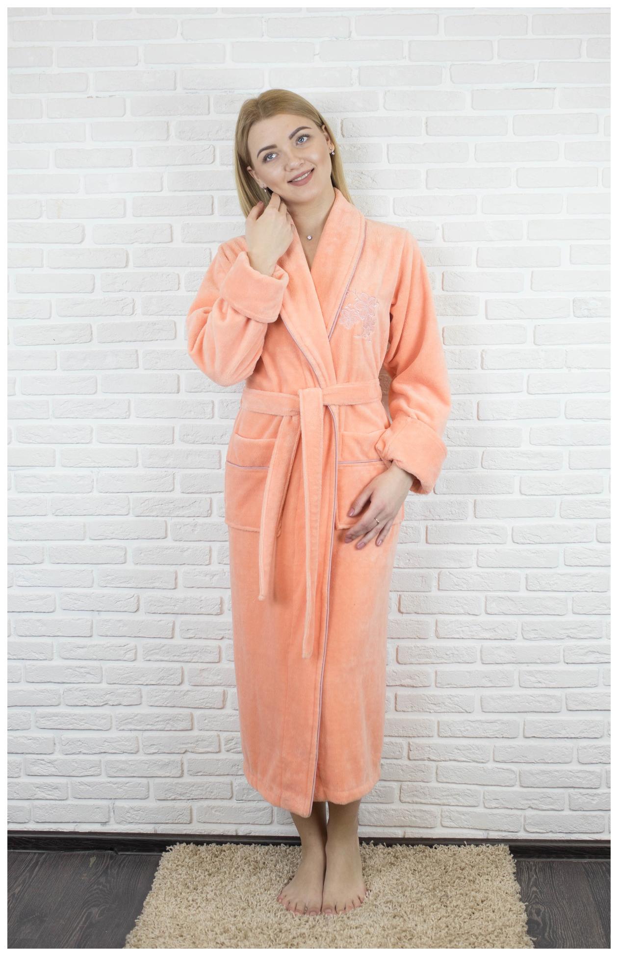 Халат Cassoli CS-3950 S цвет Персиковый