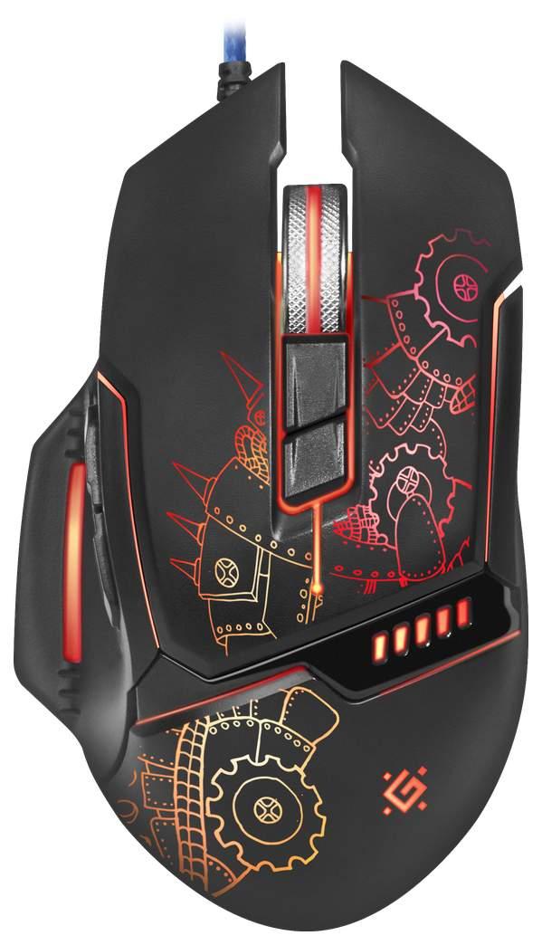 Игровая мышь Defender Kill'em All GM-480L Black (52480)