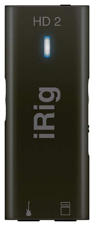 Аудио интерфейс IK Multimedia iRig HD 2 A067185 для гитары Black
