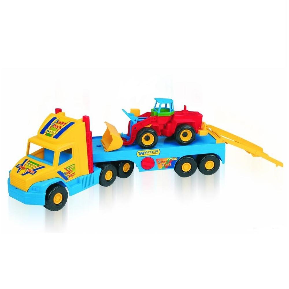 Машина с трактором Wader Super Truck Wader