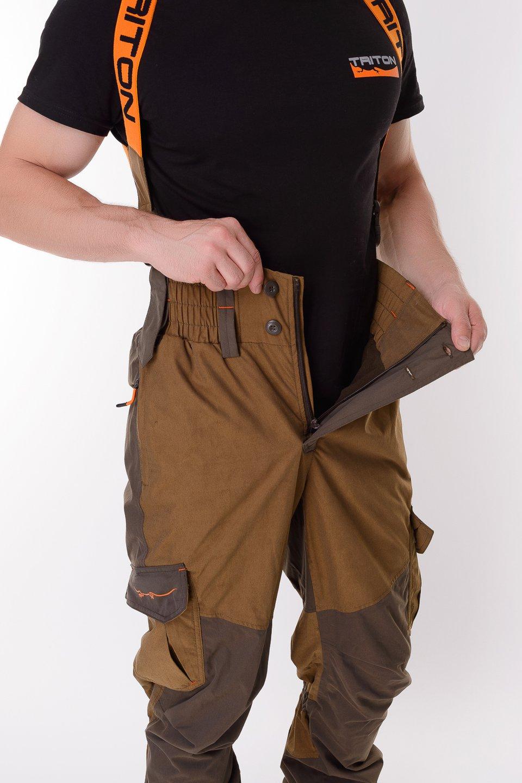 Миниатюра Костюм для рыбалки Triton Горка-5, коричневый, 120-124 RU, 182-188 см №9
