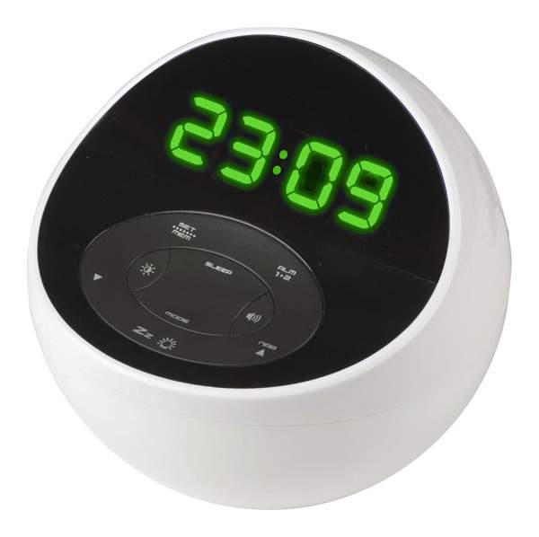 Радио-часы BVItech BV-48GWK Белый Зеленый